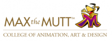 Max the Mutt College of Animation, Art & Design logo