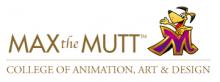 Max the Mutt College of Animation, Art & Design logo